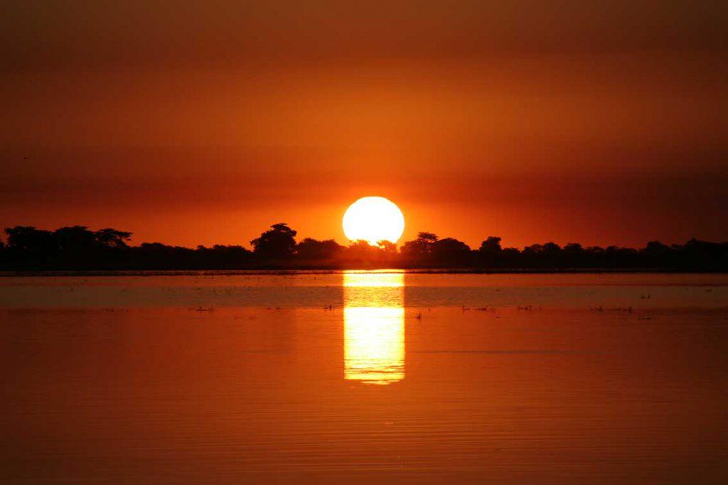 Sonnenuntergang bei Ihaha