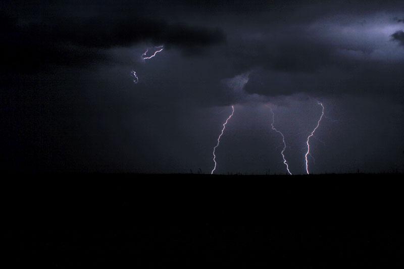 Gewitter in Polentswa