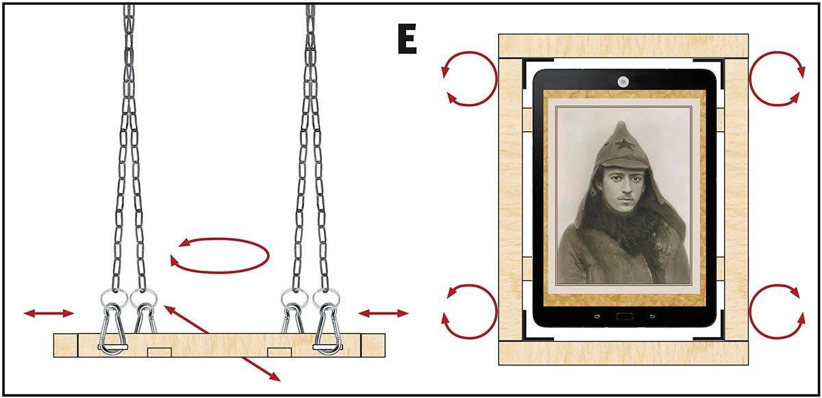Papierbilder digitalisieren, Bauanleitung