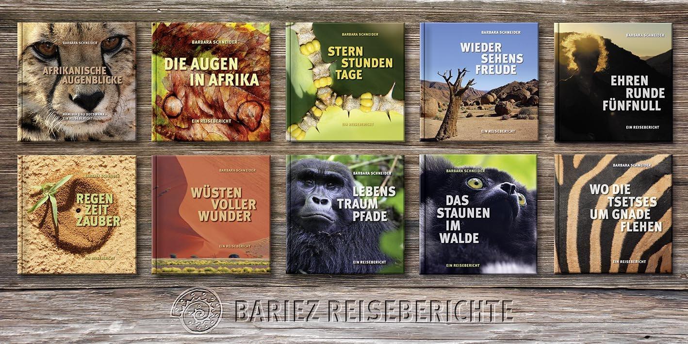 BARIEZ Reiseberichte Bücher