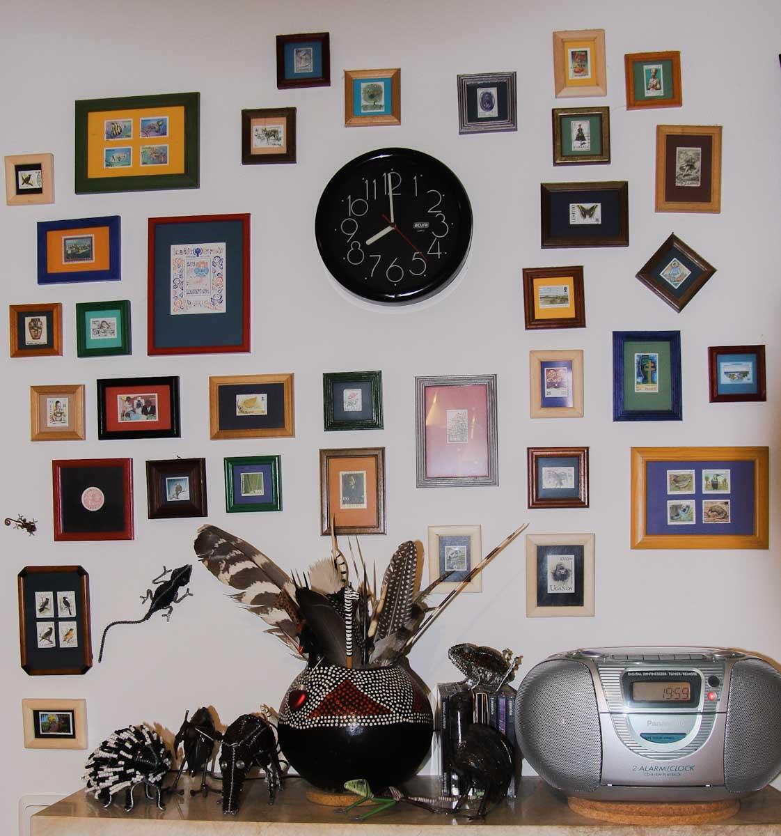Briefmarken als Mini-Galerie der Reiseerinnerungen, Mitbringsel-Sammlung
