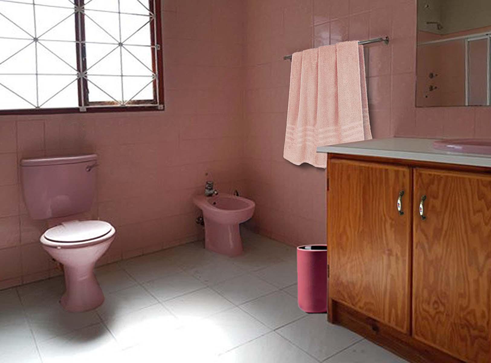 Badezimmer, funktionell, weit entfernt vom Kolonialstil