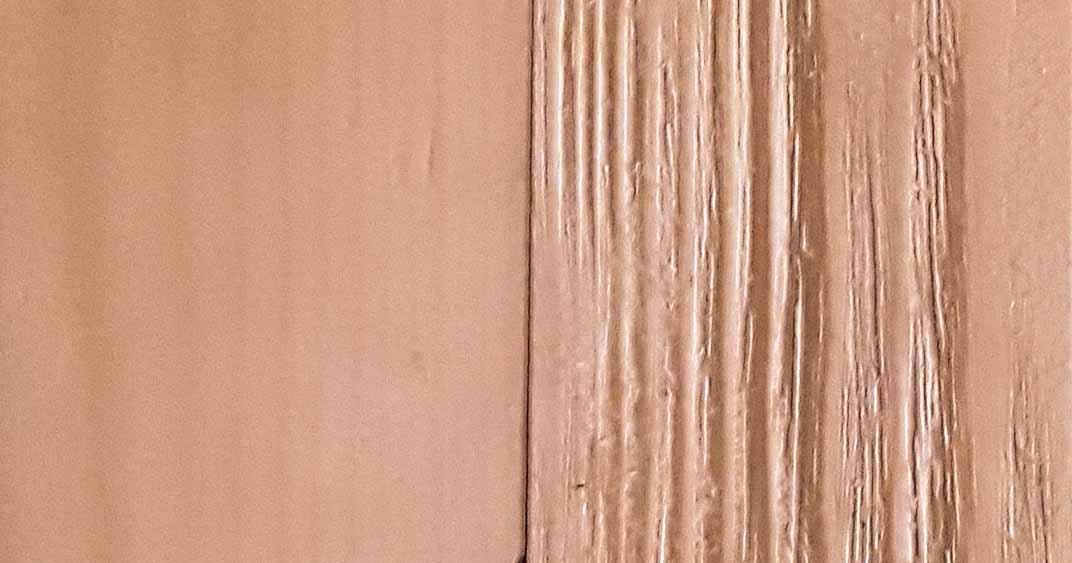 Kiefernholz, Original und stahlgebürstet