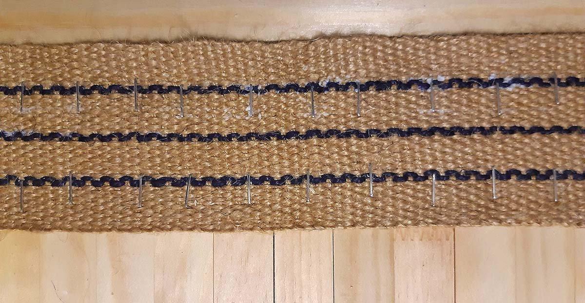 Corner Chaise, Rundungsmatte, Detail