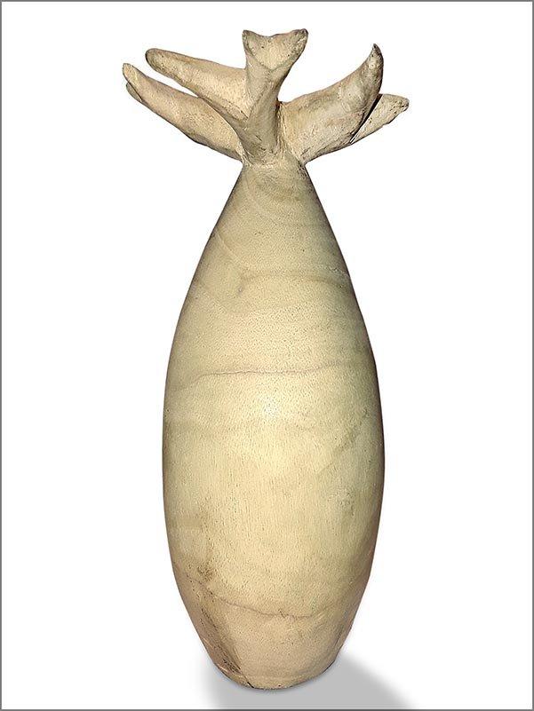 Geschnitzter Baobab aus Mangrovenholz