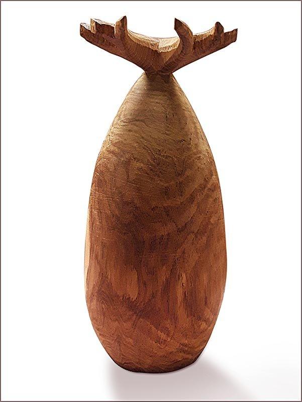 Geschnitzter Baobab aus Palisanderholz