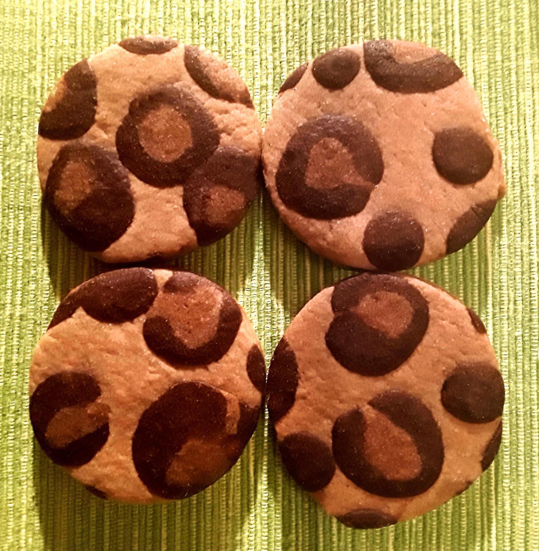 Leoparden-Kekse, Teigverwertung