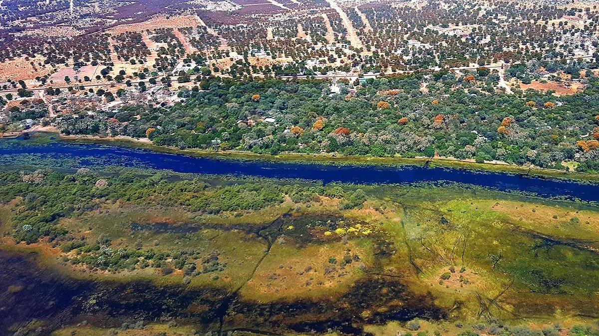 Maun Thamalakane River